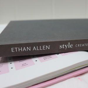 Ethan Allen Style Hardcover Book